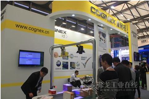 COGNEX康耐视盛装亮相2013CeMAT亚洲国际物流展