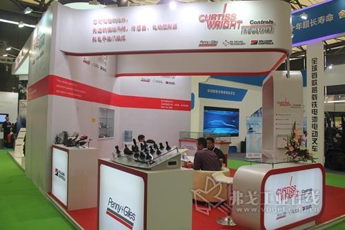 CurtissWright公司盛装亮相2013CeMAT亚洲国际物流展