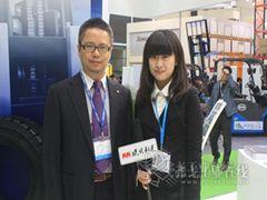 2013 CeMAT ASIA访特瑞堡轮胎工业王诚忠先生