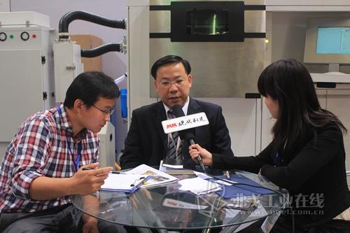 访上海光韵达三维科技技术合作EOS亚太区技术总监蔡福成先生
