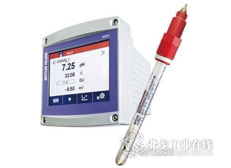 配液系统的pH在线监测