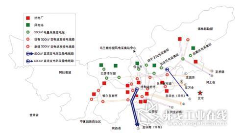 以及这些区域所建议的变电站及输电线路的设置情况(以便优化波动性可