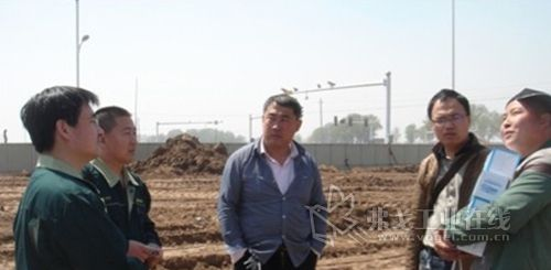 山推装载机助力革命老区吕梁地区新城建设