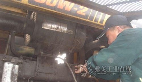 山推装载机助力革命老区吕梁地区新城建设 高清图片