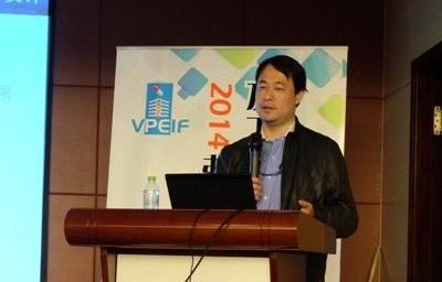 王伟/上海净泽洁净设备有限公司总经理王伟演讲现场