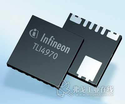 英飞凌推出首款集成式电流传感器tli4970