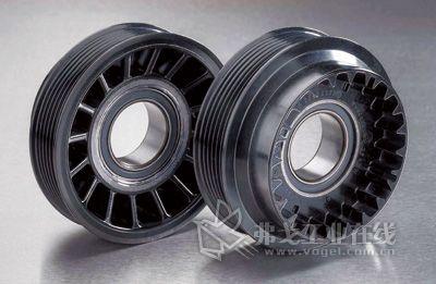 用于驱动空调压缩机的带有球轴承的皮带轮(图片来自威克迈动力系统部件公司)