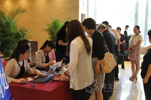 2014中国项目管理应用与实践论坛签到现场