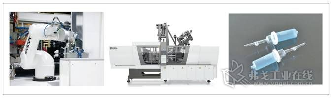 恩格尔将在一个单一的操作步骤中生产集成有过滤器的滴注室。为此,一台无拉杆ENGEL e-victory combi注塑机将加工3种不同的原材料