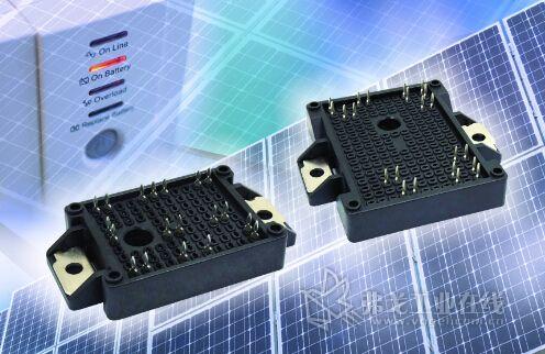 器和中功率不间断电源(ups)设计的新款igbt电源模块