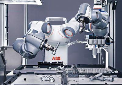 世界上首台真正实现人机协作的机器人yumi