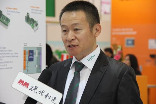 2014IAS访德国惠朋中国区销售总监郑京生