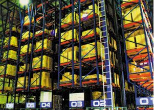自动化仓储及补货系统