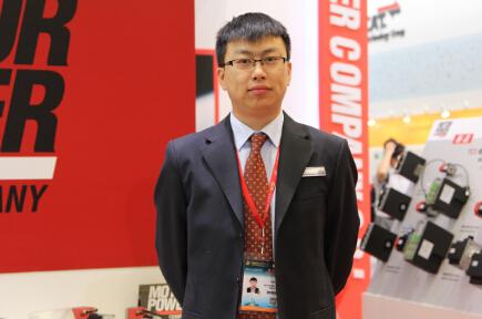 2014IAS 访意大利摩力电机销售工程师余伟先生