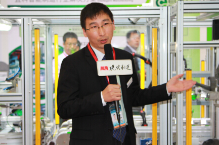2014IAS 访宜科(天津)电子有限公司行业经理 王孝强先生