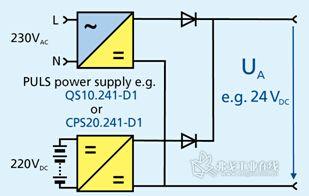 输入为直流电的AC电源图片