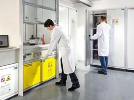 现代化的实验室安全柜