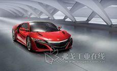 讴歌全新NSX量产版亮相2015上海车展