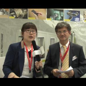 2015CIMT访瑞士精机全球销售总监Vincenzo Bonavoglia先生