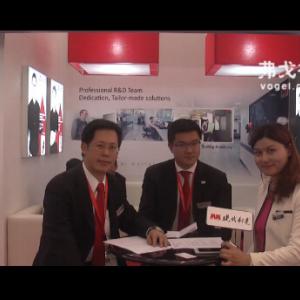 2015CIMT访春保森拉天时集团执行长黄彬基先生和执行董事吴明彰先生