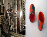 2015恩格尔无拉杆应用技术奖被授予Gardena:只有无拉杆的锁模单元才使得为全新开发的两组分工艺组合最高的精密性与极短的循环时间成为可能(左图来自恩格尔,右图来自Gardena)