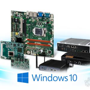 研华全面支持Microsoft Windows 10