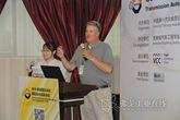 Uson交通运输业务大客户经理Christopher Stinehour先生发表演讲