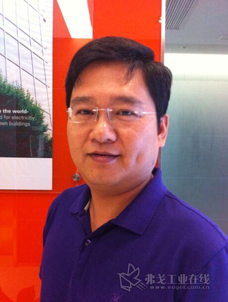 伊顿液压事业部亚太区应用技术部总监 jude li(李俊)先生