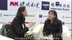2015CeMAT访北京起重运输机械设计研究院物流仓储工程中心总经理教授级高工陈涤新
