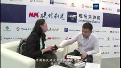 2015CeMAT访德国物流研究院帝欧咨询有限公司总经理宋伟