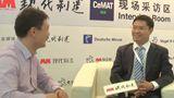 2015CeMAT访卡迪斯物流设备(北京)有限公司中国区市场总监刘博先生