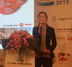 李宁女士 英格索兰机械(上海)有限公司ARO流体事业部产品经理