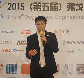 李晓栋先生 安卓物料自动化系统(天津)有限公司食品行业经理