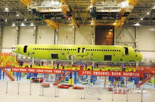 德马格为大飞机项目提供了在空客和波音飞机制造中使用到的多支点