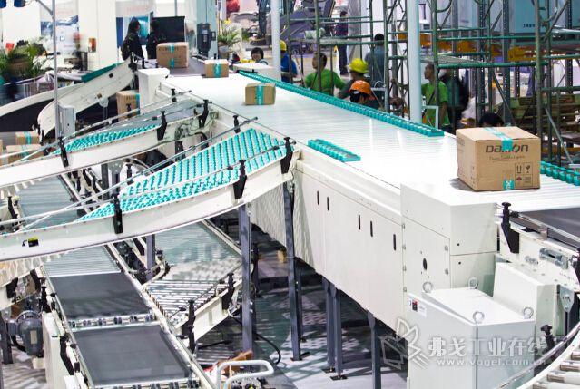 德马滑块式分拣机 浙江德马科技股份有限公司