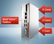 采用Intel® Atom™多核技术的无风扇紧凑型工业PC