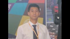 2016LogiMAT访林德客户专员金龙齐先生