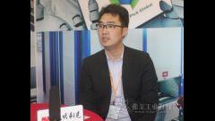 2016LogiMAT访卡迪斯销售工程师刘超先生