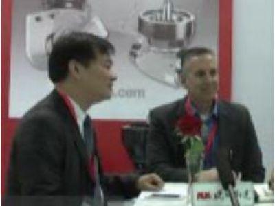 2016CCMT访赛夺科总经理严强先生和副总经理-亚洲销售和运营包吉姆先生