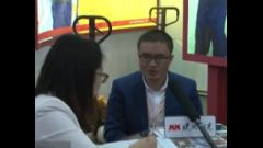 2016LogiMAT访宁波如意股份有限公司 国内销售总监 顾梓城先生