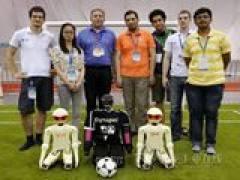 易格斯赢得机器人世界杯设计奖