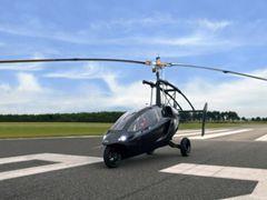 """荷兰PAL-V研制""""空中汽车""""时速达180公里"""