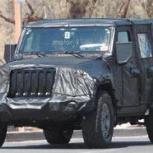 Jeep牧马人采用铝制车门引擎盖有望减重