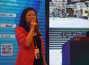 MAG中国 业务拓展总监周桂芬女士发表演讲