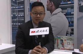 2016CeMAT ASIA访卡迪斯物流设备(北京)有限公司 大中华区总经理 Thomas