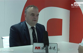 2016IAS访安沃驰集团 全球首席执行官 Paul Cleaver先生