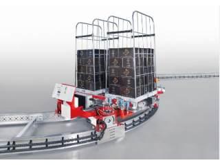 感应式电动地面双轨输送系统