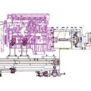三缸发动机出厂试车台架建设可行性分析