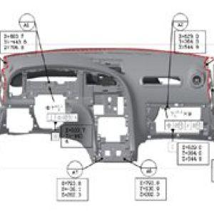 基准点系统在汽车塑料件上的应用