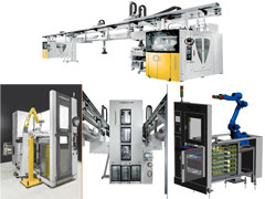 桁架(桁架机器人)和料仓